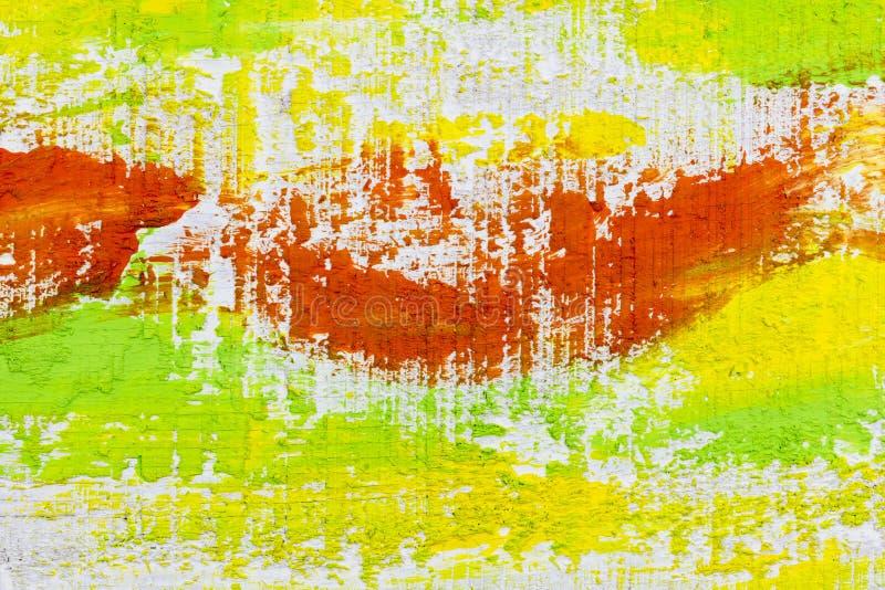 Fundo largo alaranjado escovado da textura ilustração do vetor