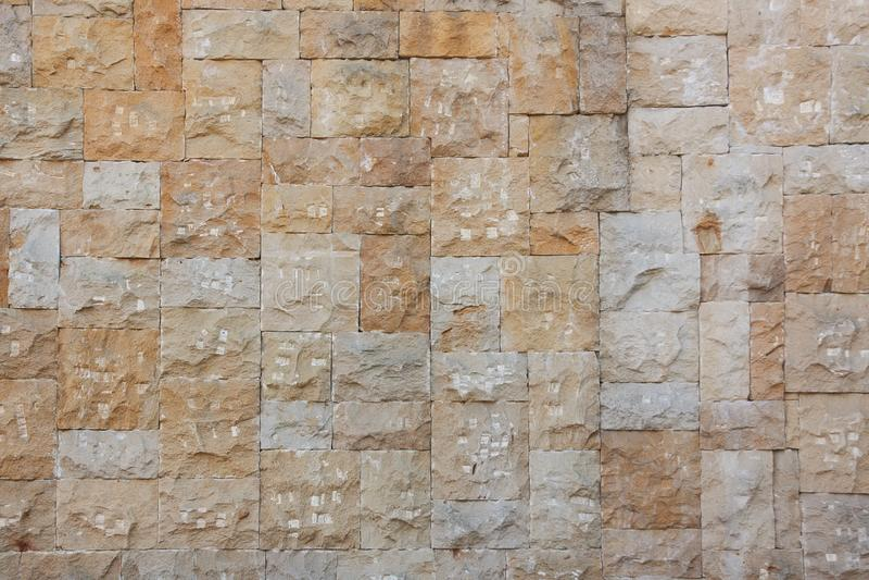 Fundo lascado da parede de pedra foto de stock royalty free