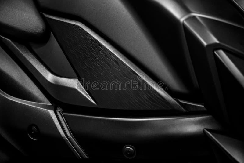 Fundo lateral direito da motocicleta foto de stock