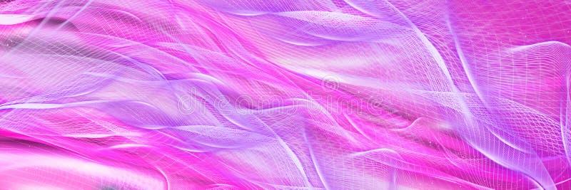 Fundo lilás abstrato panorâmico Contexto bonito para o projeto ilustração royalty free