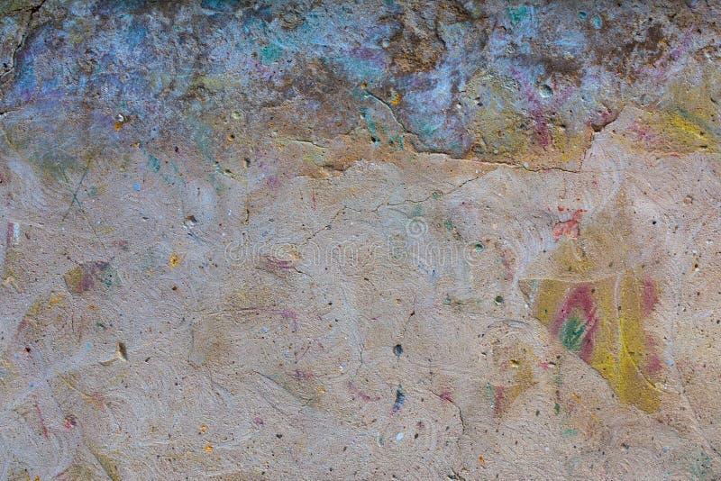 Fundo limpado da parede do graffity fotografia de stock royalty free