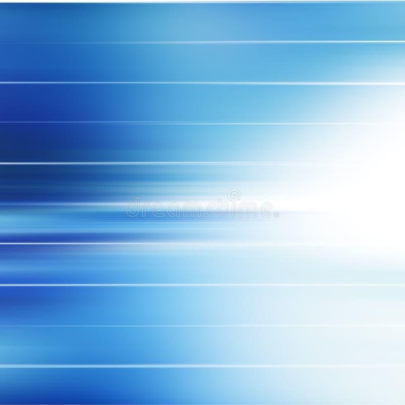 Fundo limpo azul abstrato com copyspace ilustração do vetor