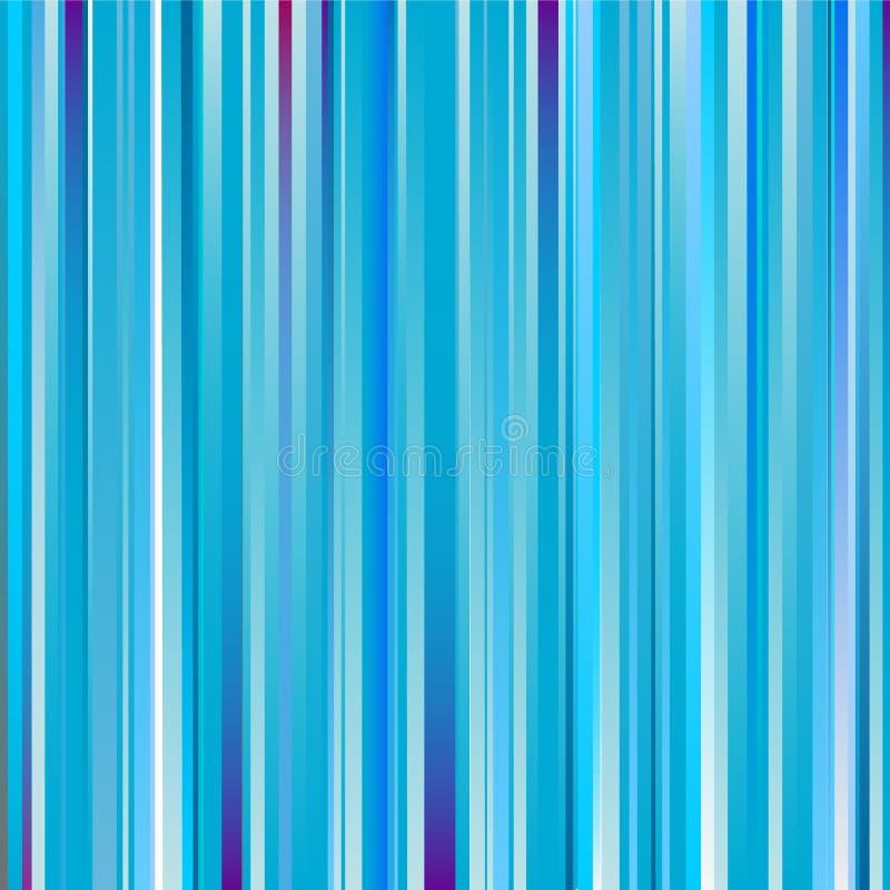 Fundo listrado azul de Abscract ilustração royalty free