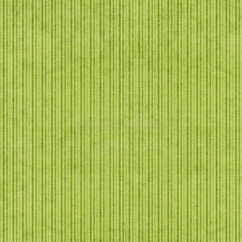 Fundo listrado verde ilustração stock