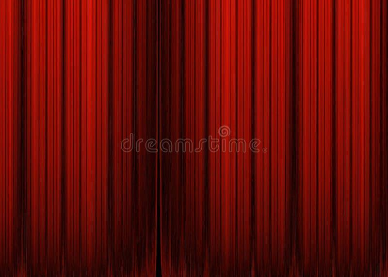 Fundo listrado vermelho abstrato ilustração royalty free