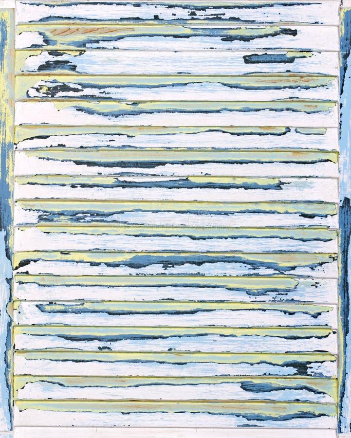 Fundo Louvered, textured, lixado do grunge da pintura imagens de stock royalty free