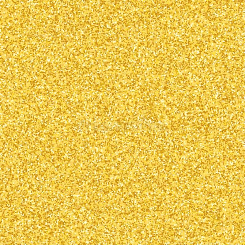 Fundo luxuoso de brilhos do ouro Faísca da poeira de ouro Textura do ouro para seu projeto Confetes dourados pequenos O fulgor do imagens de stock