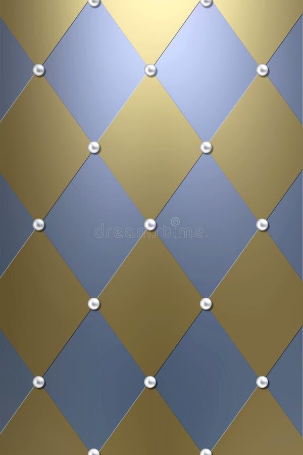 Fundo luxuoso do diamante ilustração stock