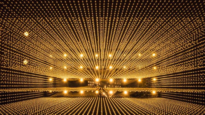 Fundo luxuoso do teste padrão da luz do candelabro foto de stock royalty free