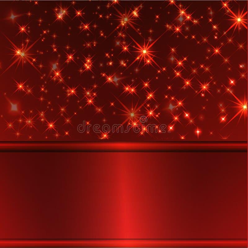 Fundo luxuoso vermelho imagens de stock