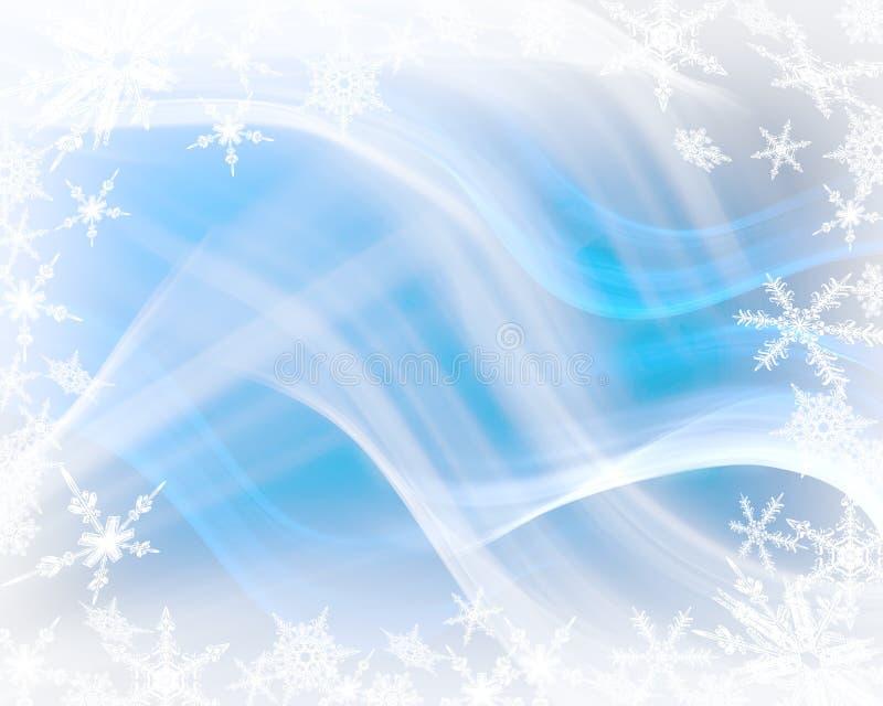 Fundo mágico do inverno ilustração stock