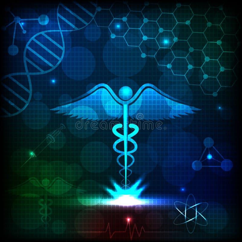 Fundo médico ilustração do vetor