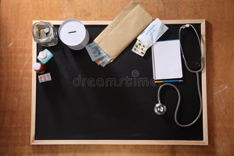 Fundo médico imagens de stock