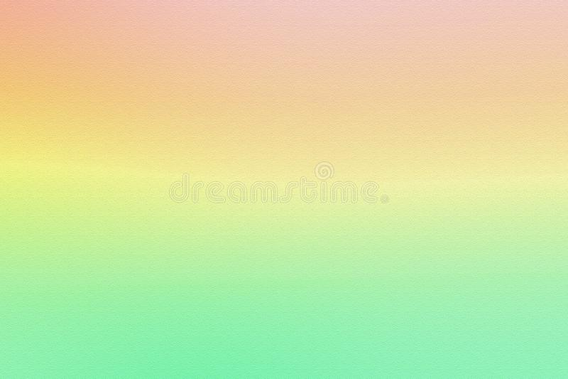 Fundo macio cor-de-rosa e verde do inclinação da cor fotografia de stock