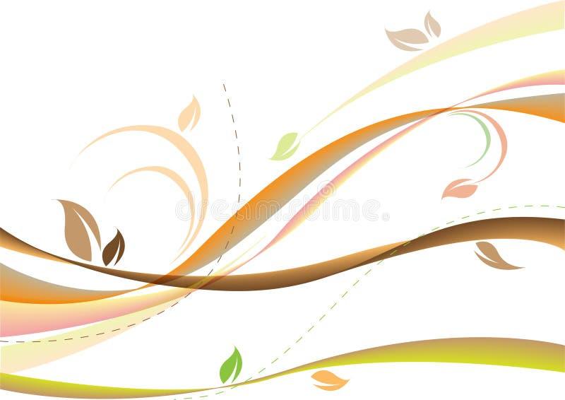 Fundo macio do outono ilustração royalty free