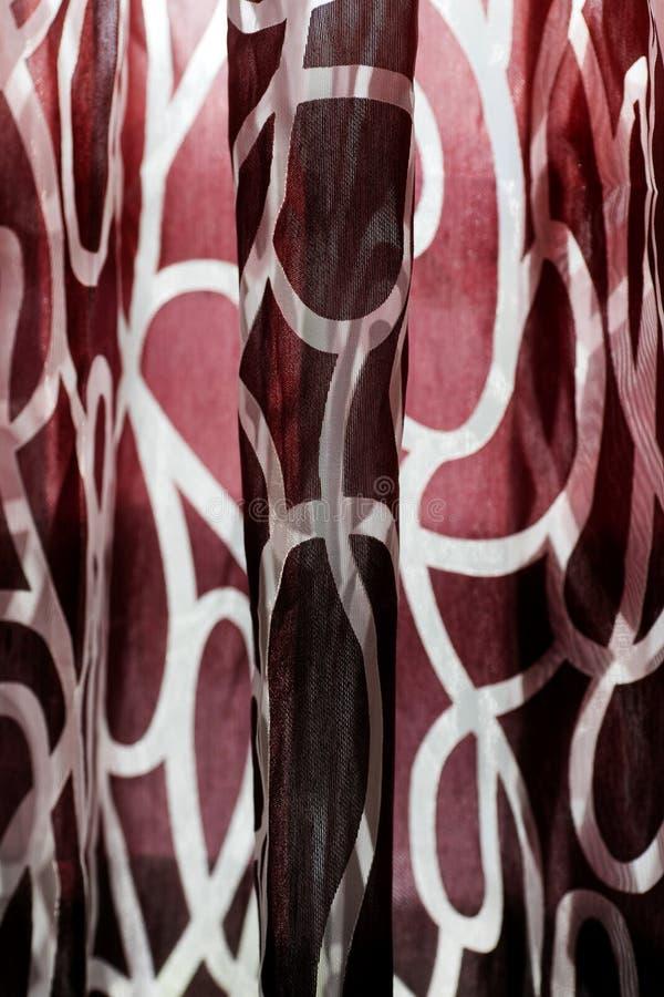 Fundo macro colorido bonito do sumário da cortina de alta qualidade foto de stock