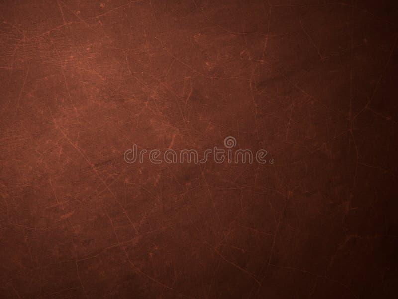 Fundo marrom abstrato da parede do cimento do grunge foto de stock