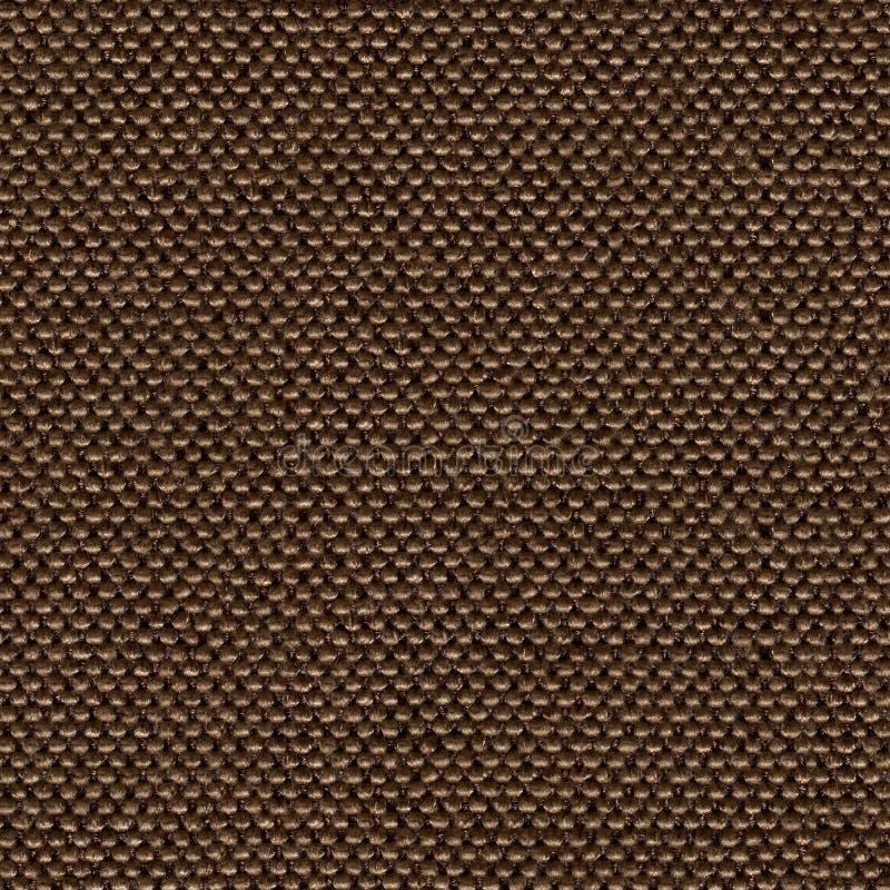 Fundo marrom caro da tela para o projeto Textura quadrada sem emenda foto de stock royalty free