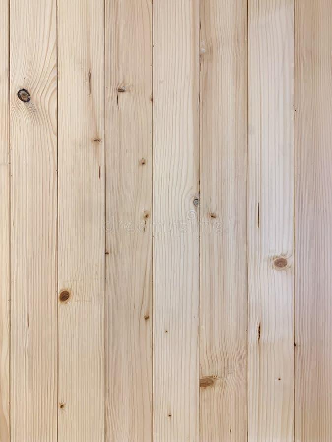 Fundo marrom de madeira real da parede da textura foto de stock royalty free
