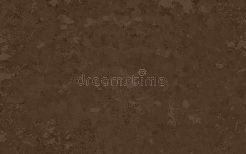 Fundo marrom velho Projeto da textura do Grunge no projeto afligido fraco do papel de parede Fundo escuro elegante l da terra ou  fotografia de stock