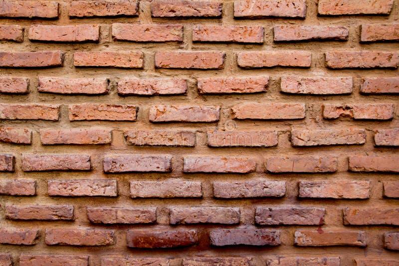 Fundo marrom vermelho da textura da parede de tijolo fotos de stock royalty free