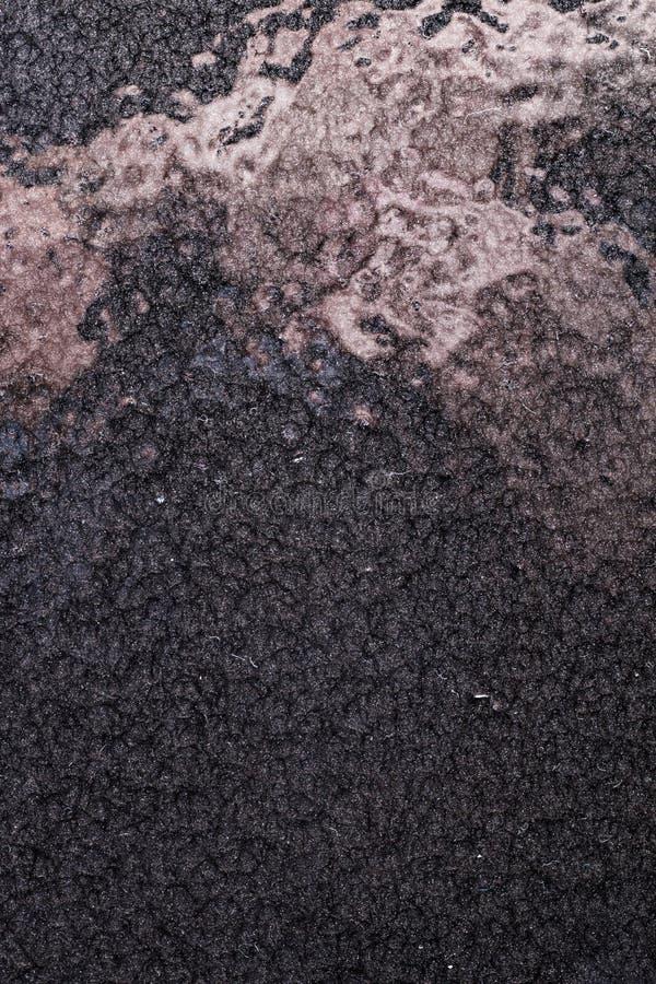 Fundo martelado preto do metal, textura metálica abstrata, folha fotos de stock