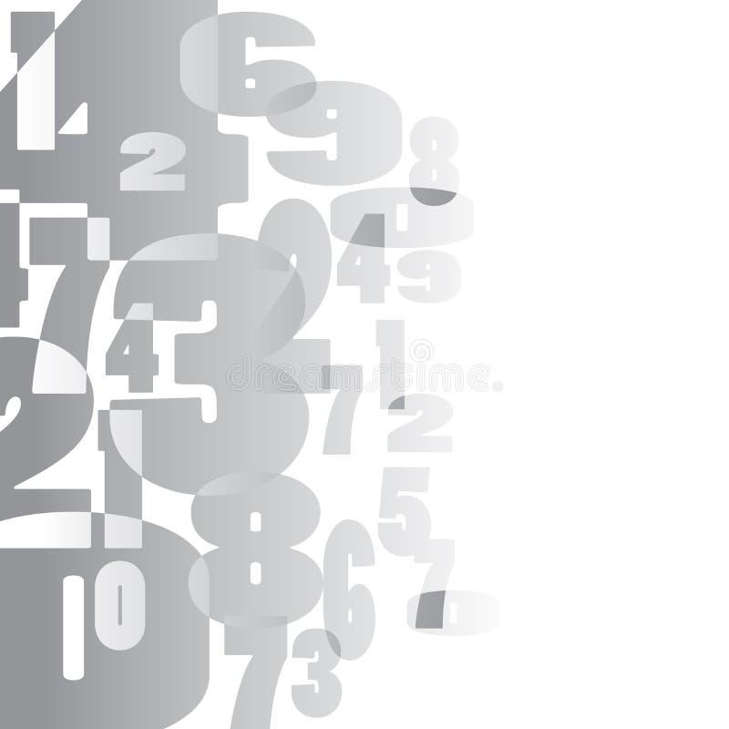 Fundo matemático ilustração do vetor