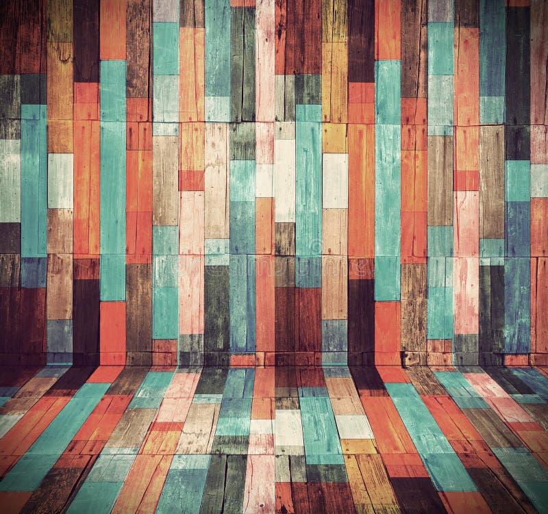 Fundo material de madeira ilustração do vetor
