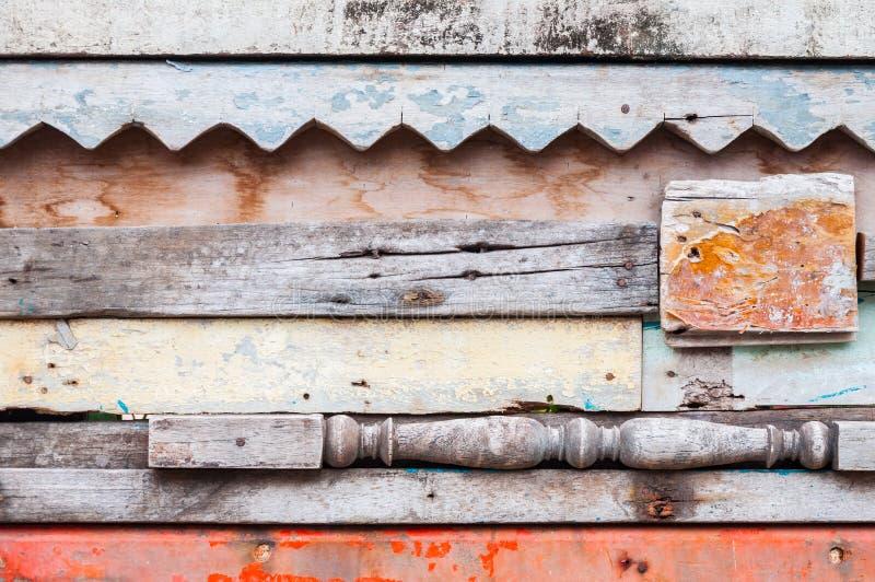 Fundo material de madeira para o papel de parede velho do vintage para o fundo foto de stock