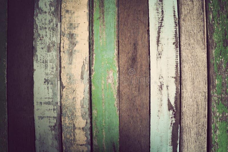 Fundo material de madeira para o papel de parede do vintage foto de stock
