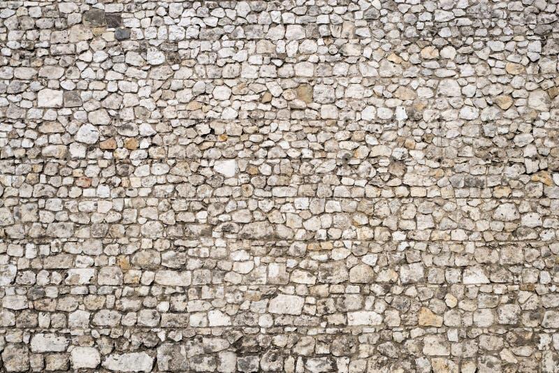 Fundo medieval da parede de pedra fotografia de stock