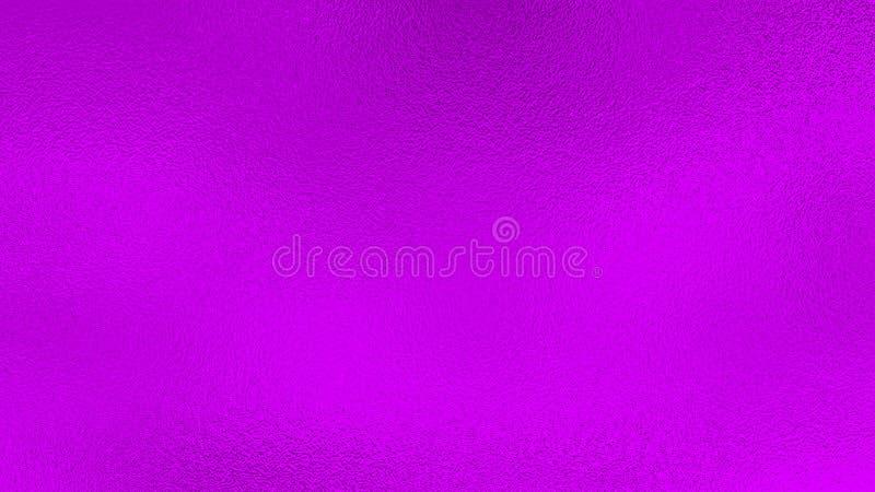 Fundo metálico cor-de-rosa roxo da folha foto de stock royalty free