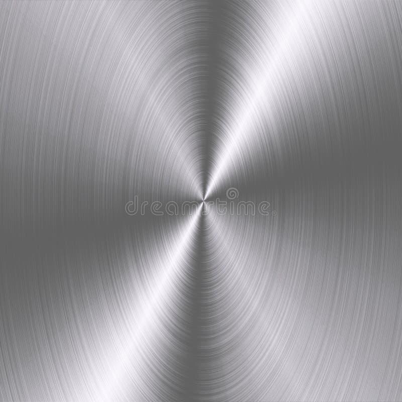 Fundo metálico da folha de prata Textura metálica O papel de parede metálico, fundo para imprimir, empacotando, cobre ilustração stock