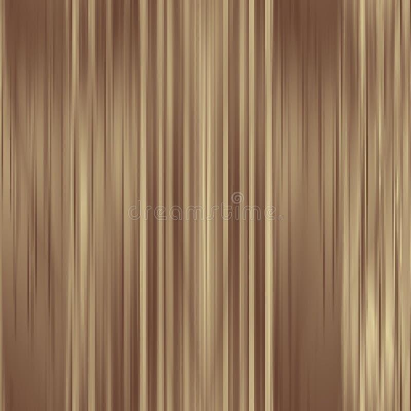 Fundo metálico das cortinas do ouro abstrato da platina ilustração do vetor