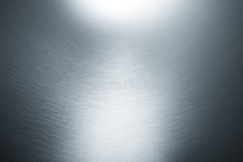 Fundo metálico de prata foto de stock royalty free