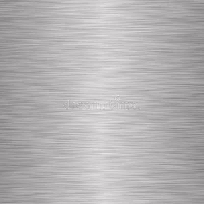 Fundo metálico de prata escovado fotografia de stock royalty free