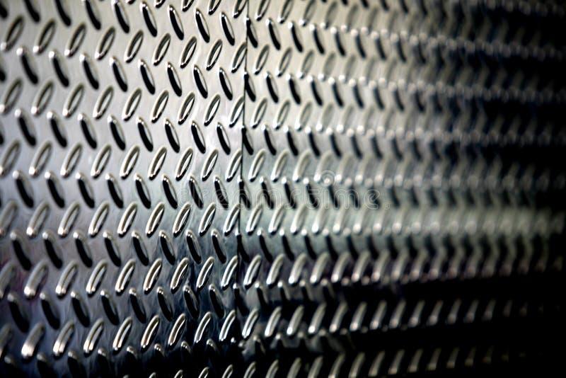 Fundo metálico perfurado Textured fotos de stock