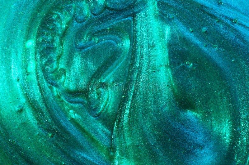 Fundo metálico textured da hortelã do sumário imagens de stock royalty free