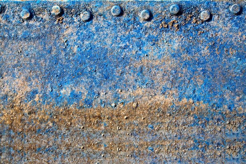 Download Fundo-metall do vintage. ilustração stock. Ilustração de azul - 10058530