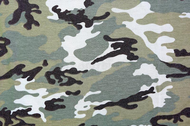 Fundo militar da camuflagem, textura da tela foto de stock royalty free