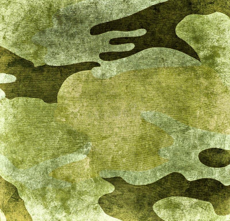 Fundo militar do Grunge ilustração royalty free