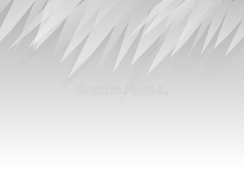 Fundo minimalistic geométrico cinzento do sumário do projeto ilustração do vetor