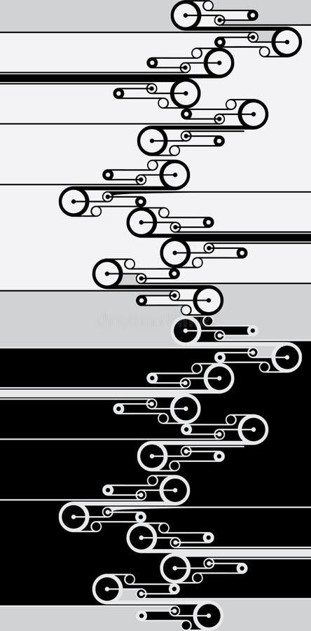 Fundo modelado sumário ilustração do vetor
