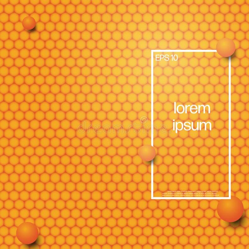 Fundo moderno abstrato do estilo Projeto mínimo do vetor da tampa ilustração stock