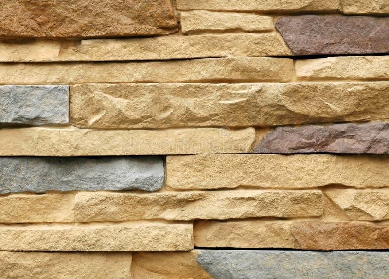 Fundo moderno da parede de pedra fotografia de stock