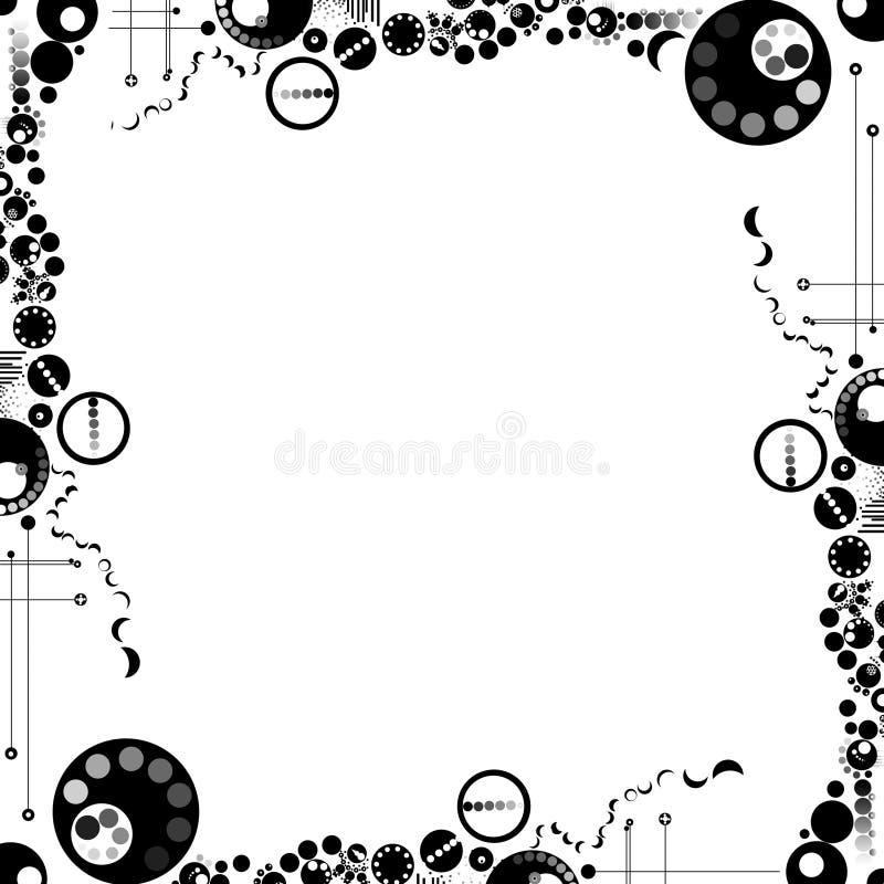 Fundo moderno elegante ilustração stock
