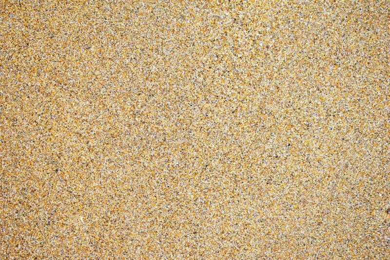 Fundo molhado da areia fotos de stock royalty free
