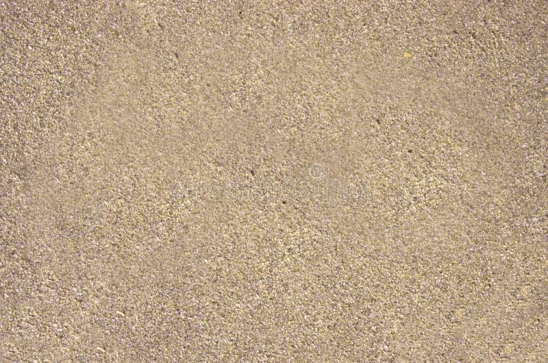 Fundo molhado da areia imagem de stock
