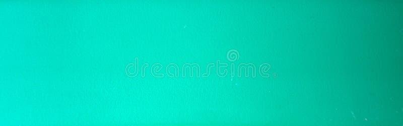 Fundo monocromático de turquesa com textura granulado, posicionamento horizontal Close-up imagem de stock royalty free