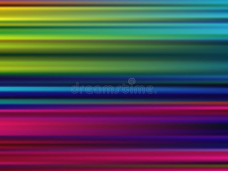 Fundo Multicolor abstrato do borrão de movimento ilustração royalty free